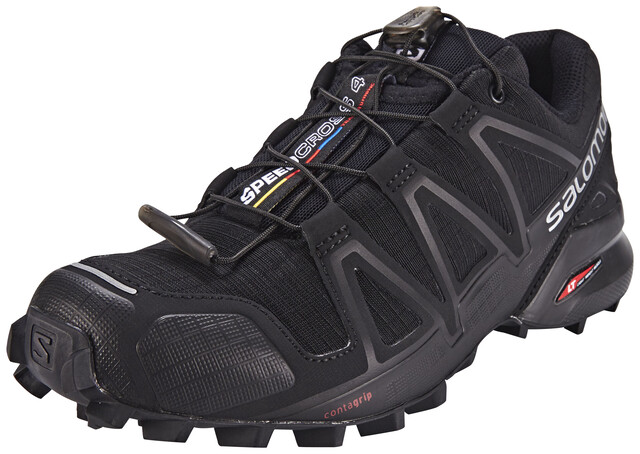 Salomon Speedcross 4 Schoenen Dames, blackblackblack metallic